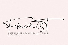 INTERNATIONAL WOMEN'S DAY FONT by  in Script Fonts