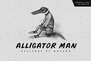 Alligator Man