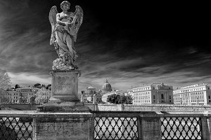 Statue of angel on Rome