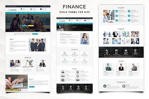 Finance – Child Theme for Divi