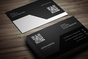 Corporate Dark Business Card
