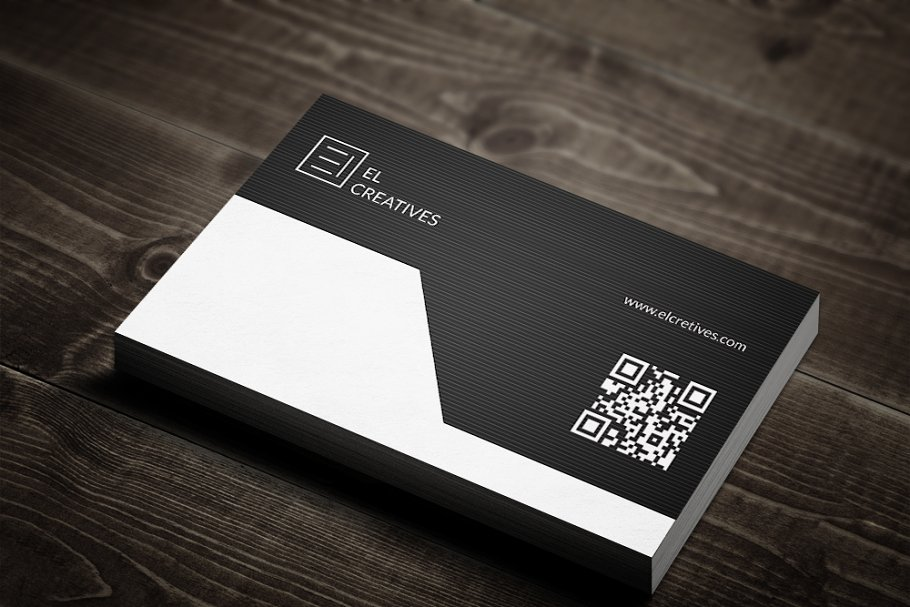 Corporate Dark Business Card in Business Card Templates