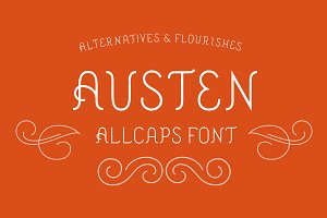 Austen Display Font