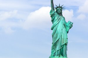 The Statue of Liberty in New York Ci