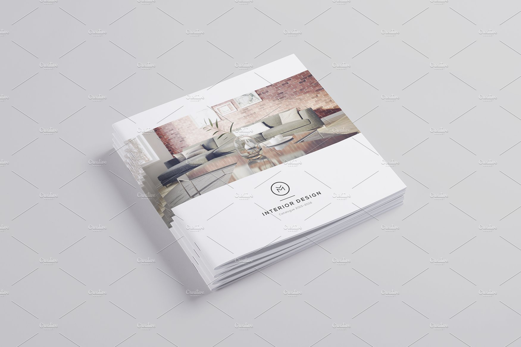 Minimal interior design brochure brochure templates for Interior design brochures