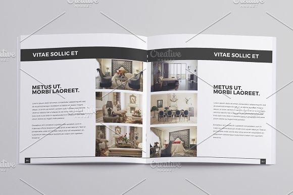 Minimal Interior Design Brochure Templates Creative Market