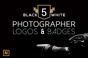 5 Photographer Logo & Badges