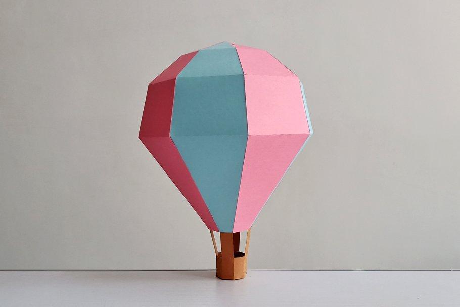 DIY Hot Air Balloon - 3d papercraft ~ Templates ~ Creative ...