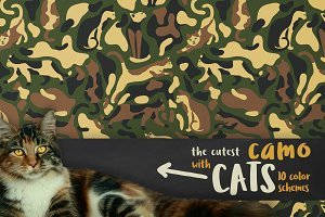 Seamless camo with CATS