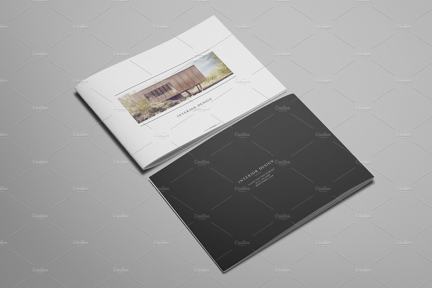 Interior Design Brochure Templates Creative Market