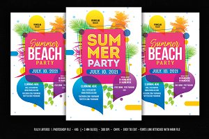Summer Party / Summer Beach Party