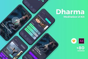 Dharma - Meditation UI Kit