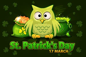 Illustrations For Happy St. Patrick