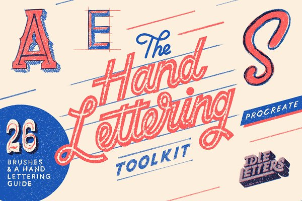 Procreate Brushes: Idle Letters - The Procreate Hand Lettering Toolkit