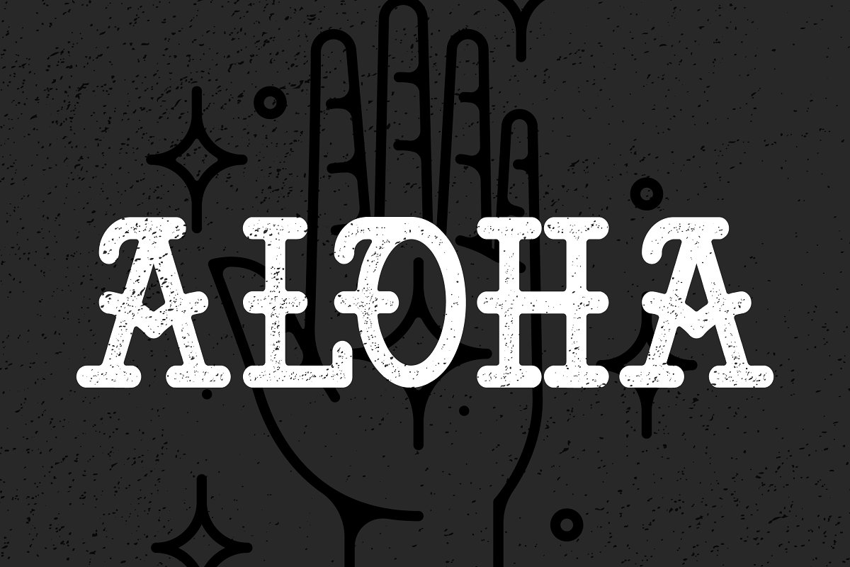 ALOHA TATTOO TYPE ~ Fonts ~ Creative Market