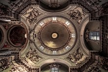 Church dome, Bologna by  in Abstract