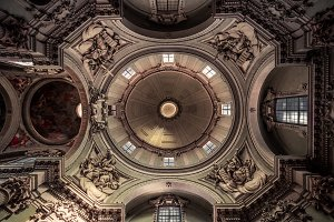 Church dome, Bologna