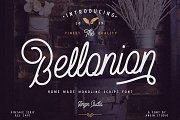 Bellonion Script ( font duo )