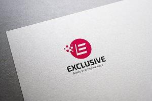Exclusive Letter E Logo