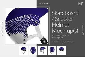 Skateboard / Scooter Helmet Mock-ups