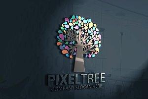 Pixel Tree Logo Discount % 25