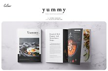YUMMY Food Inovation Lookbook by  in Magazines