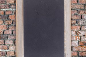 Small black chalkboard