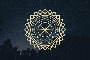 75 Circle Mandala