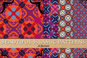 4 Vector Islamic Patterns
