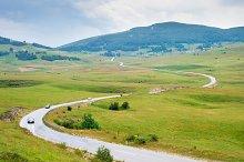 Country road. Bosnia and Herzegovina