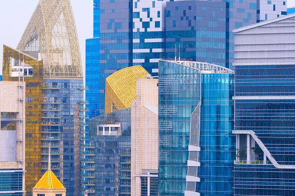 Business Images - Density business skyscraper downtown