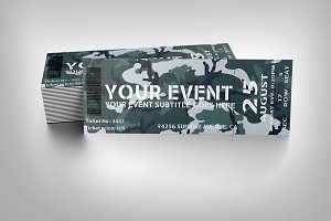 Military event ticket