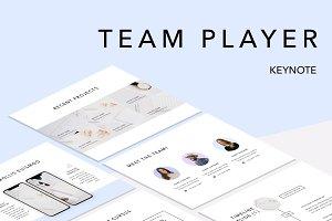 Team Player Keynote Template