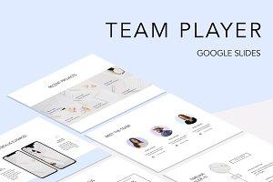 Team Player Google Slides