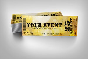 Party event ticket