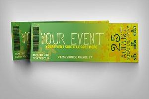 Flower event ticket