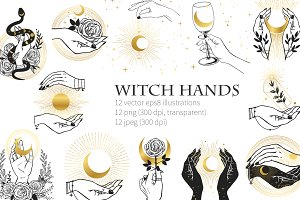 Witch hands