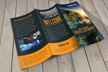 Smart Innovation Trifold Template