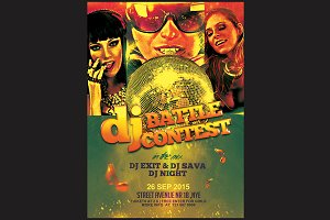 Dj Battle Flyer