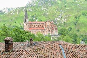 Basilica of Covadonga.