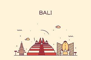 Bali skyline (Indonesia)