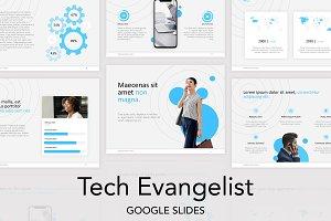 Tech Evangelist Google Slides