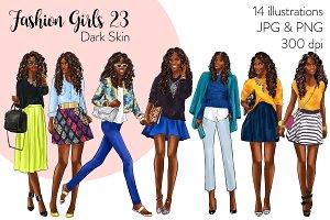 Fashion Girls 23 - Dark Skin