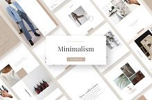Minimalism - social media template by  in Social Media