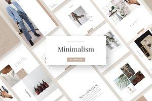Minimalism - social media template