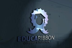 Education Ribbon Logo