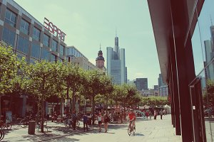 Zeil in Frankfurt Germany