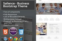 Salience - Business Bootstrap Theme