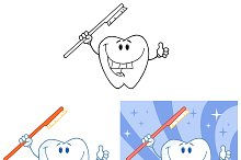 Tooth Character Collection - 5