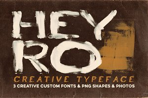 Heyro - Creative Lettering